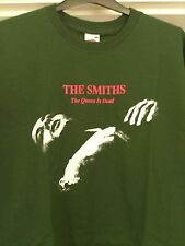THE SMITHS - THE QUEEN IS DEAD - GREEN 100% COTTON  T-SHIRT