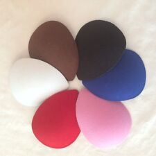 Teardrop Shaped Felt Fascinator Hat Base in 6 Colors - Fast Shipping from US