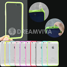 Anti-Dust Plug Insert Ultra Thin Crystal Back Cover Case For iPhone 5 +Free SP