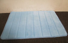 MEMORY FOAM BATHROOM BATH MAT RUG- BABY LIGHT SKY  BLUE  -  3 SIZES AVILABLE!