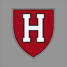 Harvard Crimson NCAA College Vinyl Sticker Decal Car Window Wall