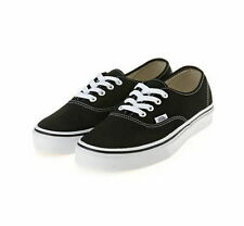 Vans Authentic Classic Low Black Man Woman Shoes VN-0EE3BLK Sz3~13 Fast Shipping