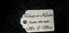 100  Wedding Gift  Tag Favor  Thank You Tags White Ivory Buy 2 Get 1 Free