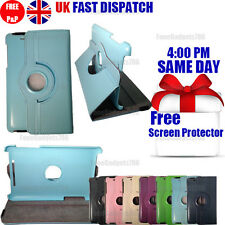 Leather 360 Degree Rotating Stand Case FOR Asus Google Nexus 7 First Generation