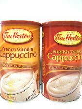 Tim Hortons Cappuccino  Instant Cappuccino Mix  2 Choices