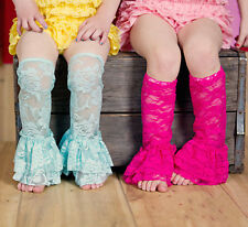 New  baby Girl Lace Leg Warmers Tights Toddler Summer Leggings Socks