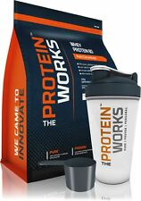 2KG WHEY PROTEIN MUSCLE MASS SHAKE from THE PROTEIN WORKS™. FREE SHAKER + SCOOP!