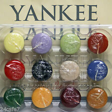 12 Yankee Candle VOTIVE CANDLES 1 Dozen Votives SAME SCENT Choices PICK + CHOOSE