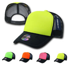 DECKY NEW BLANK NEON FOAM MESH TRUCKER HATS HAT CAPS CAP SNAPBACK TWO TONE
