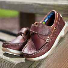 Chatham Anchor Velcro Childrens Shoe - Leather Kids Boys Shoes