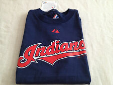 CLEVELAND INDIANS YOUTH MAJESTIC OFFICALLY LICENSED TEE SHIRT