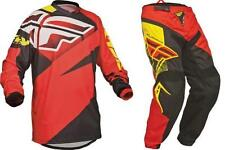 2014 F16 Fly Jersey & Pants Combo MX ATV Off-Road Red Adult and Youth