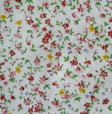 100% COTTON PINK POPLIN FLORAL FABRIC PICK YOUR OWN SIZE PERSIA 01
