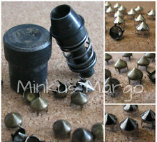 8mm Spike Stud Die Mold for Hand Press Machine Setter Plus 50 Spike Studs