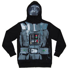 Darth Vader Masked Costume Youth Kids Hoodie New