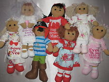 Rag Doll Personalised Choice of doll