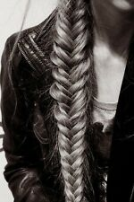 Beautyworks chunky clip in Messy Fishtail  plait /braid hair extension