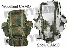 German Flecktarn Military Outdoor Professional Field Back Pack Camo Gear RM1470