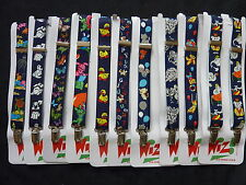 BRACES for BOYS/GIRLS/CHILDREN in NAVY PATTERNS, LOTS TO CHOOSE FROM approx 1-6y
