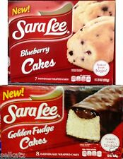 Sara Lee Individually Wrapped Snack Cakes Iced or Cream Filled Cake ~ Pick One