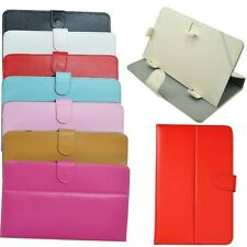 """Folio PU Leather Case For 9"""" Android Tablet MID PC Protect Cover Stand Universal"""