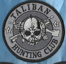TALIBAN HUNTING CLUB PATCH BNP ISD  SKINHEAD BIKER MOD PUNK Oi scooter