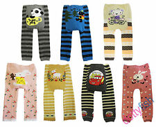 NEW BABY & TODDLER WOOLLY LEGGINGS TIGHTS BOYS & GIRLS DESIGNS - UP TO 36MTHS