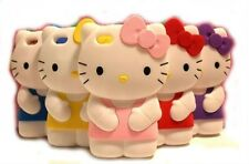 New Hello Kitty 3D Soft Silicone Gel Case Skin for iPhone 4/4S/4G FREE SHIPPING