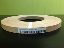 "CHERRY WOOD VENEER EDGEBANDING PREGLUED Size ( 5/8"" to 2"" ) x 250' ROLL"
