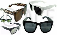 Large Classic Retro Thick Frame Mens Ladies Womens WAYFARER SUNGLASSES Sunnies