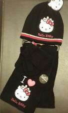 New Boy Girl Hat Scarf Gloves 3 Piece Set Winter Peppa  Angry Birds Hello Kitty
