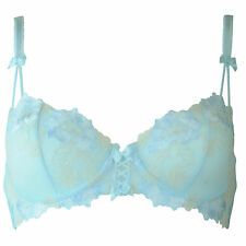 Pour Moi Provence Underwired Balcony Non Padded Bra Blue A-DD