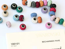 SWAROVSKI ELEMENTS 80101 BeCharmed Pave 14mm  Many Colors