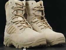 Men's Field Special forces military boots side zipper army boots