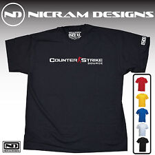 Counter Strike Source CSS Game T Shirt xbox 360 ps3 ps4 pc