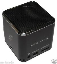 Music Angel Boom Cube/MP3 Player MD07 2GB 4GB 8GB up to 32GB Black Blue Silver