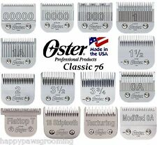 OSTER Cryogen X CLASSIC 76 BLADE*FIT A5,Andis AG,BG CLIPPER*HAIR STYLIST BARBER