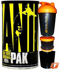 UNIVERSAL ANIMAL PAK 44 PACKS MULTI VITAMINS MINERALS ENERGY PUMP RECOVERY BOOST