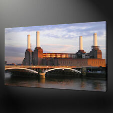 BATTERSEA POWER PLANT QUALITY CANVAS PRINT PICTURE  WALL ART DESIGN FREE UK P&P