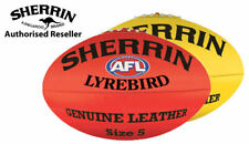Sherrin Lyrebird Leather AFL Football - Aussie Rules Football