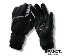 2014 Spakct Bike Cycling Men's Gloves Full Finger Gloves New-Motor Black