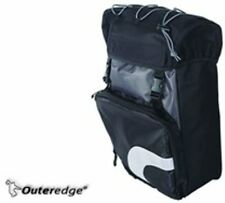 Outeredge Albatross Bike / Cycling Medium Pannier Rack Bag with LED Light Holder