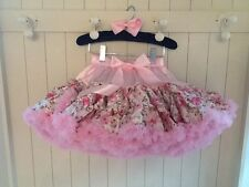 Petits Cherubs Premium Pettiskirt Tutus Floral Fall *find us on face book*