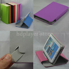"Colorful Flip Leather Case+Stylus+Film For 9"" Supersonic SV-9/SC-1009JB Tablet"