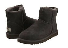 NEW WOMEN UGG BOOTS CLASSIC MINI GRAY COLOR 5854 W-GRY
