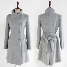2013 han edition Women thicken fleece Warm Coat Lady Outerwear Jacket Gray Color