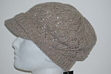 New With Tags Ralph Lauren Falling Leaves Newsboy Cap 1 size Cashmere Blend
