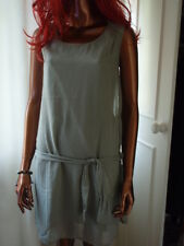 New chiffon Taupe White Stuff lined dress tunic Top quality. RRP £59