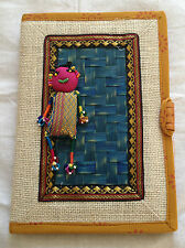 Traditional Jute diary, Indian handicrafts,/ Christmas/ New year appoitnments