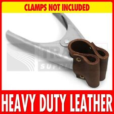 Heavy Duty Leather Market Stall Clip Covers Spring Clamps Tarpaulins Tarp NEW